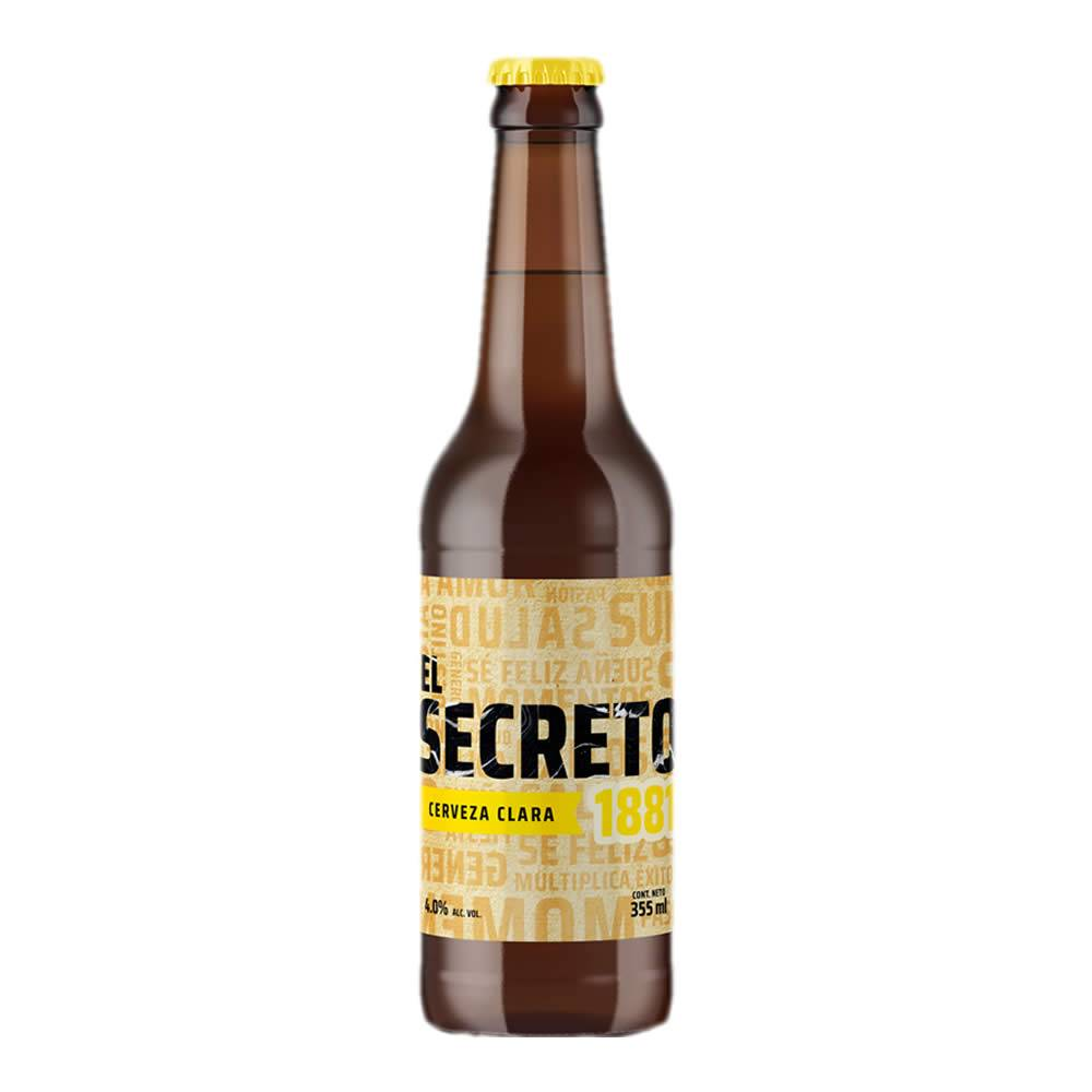 Cerveza El Secreto Clara