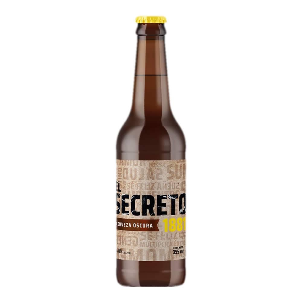 Cerveza El Secreto Obscura