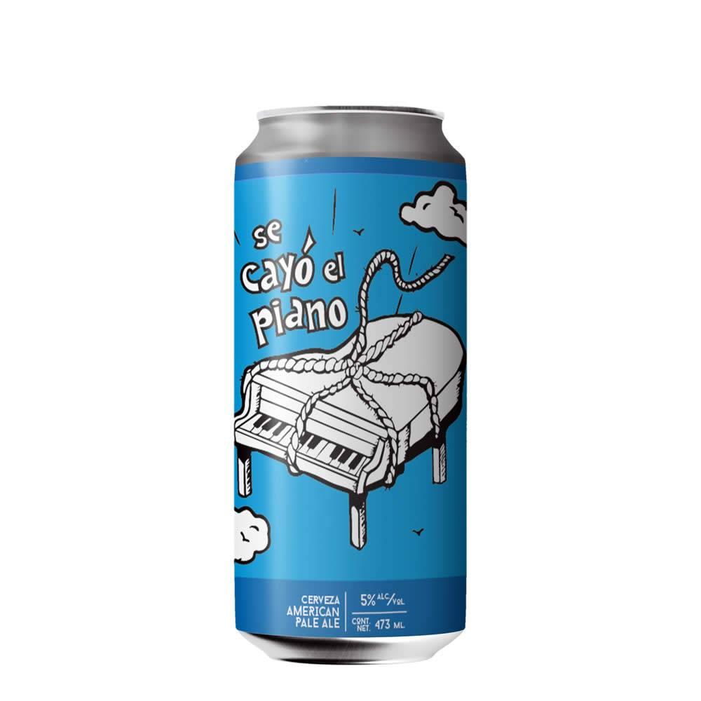 Cerveza Falling Piano Se Cayó El Piano