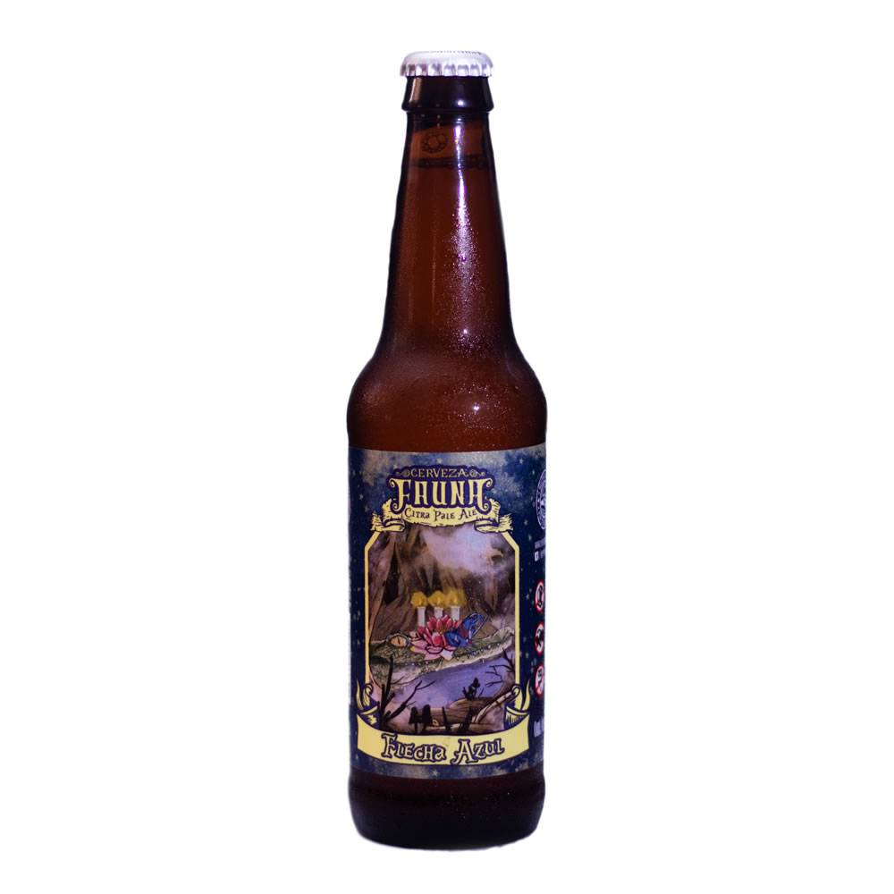 Cerveza Fauna Flecha Azul