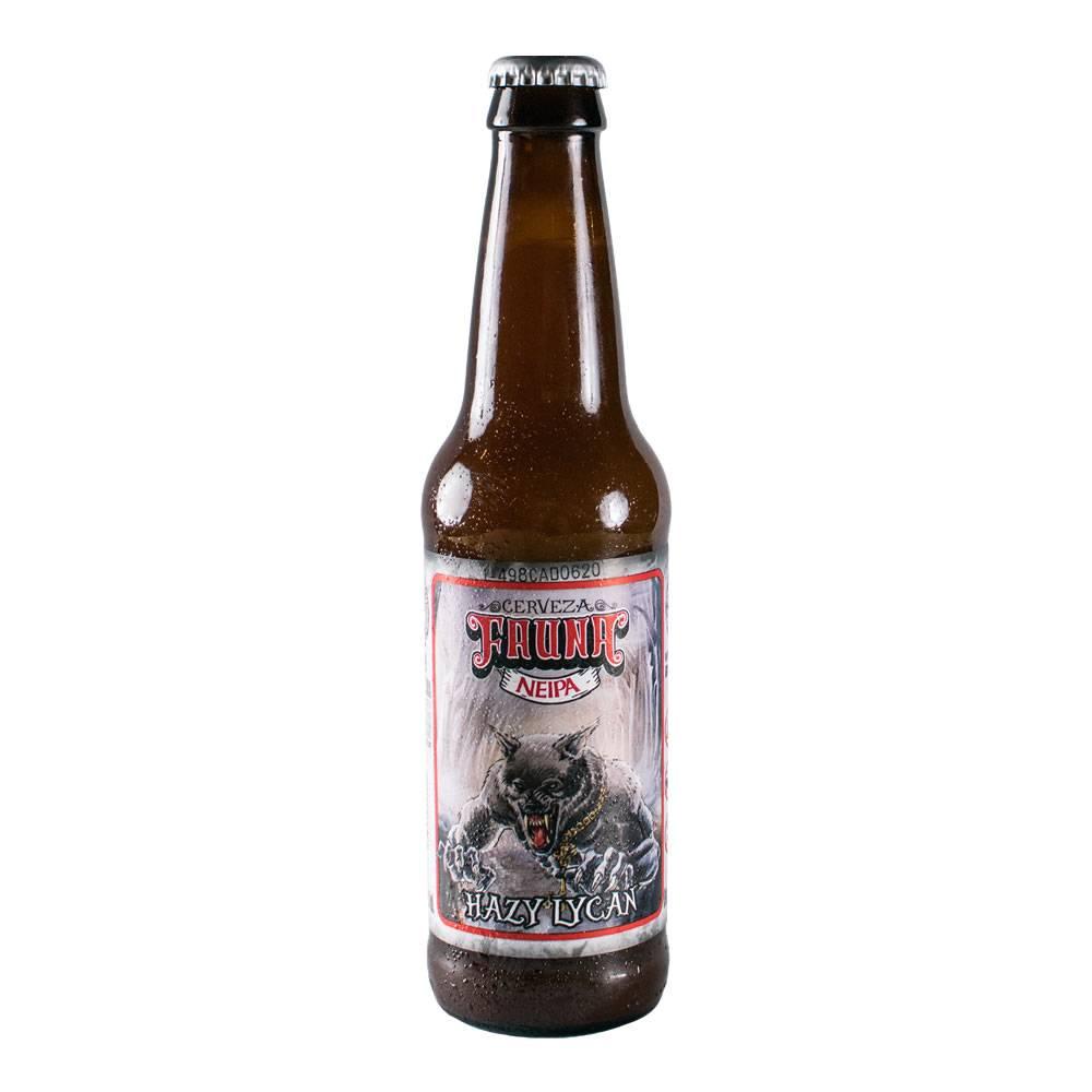 Cerveza Fauna Hazy Lycan