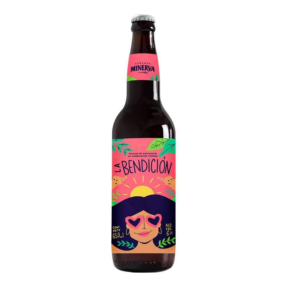 Cerveza Minerva La Bendición