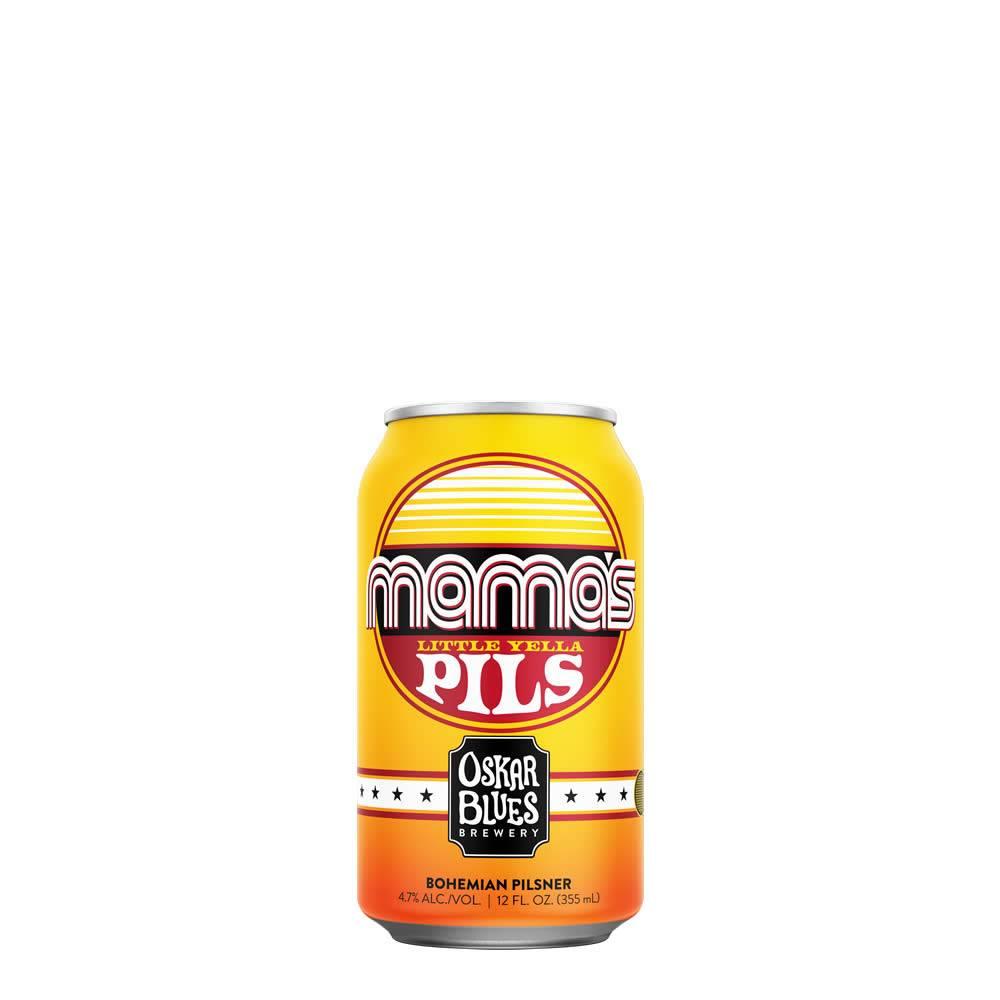 Cerveza Oskar Blues Mama´s Pils