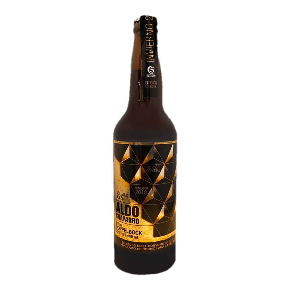 Cerveza 5 de Mayo Aldo Chaparro
