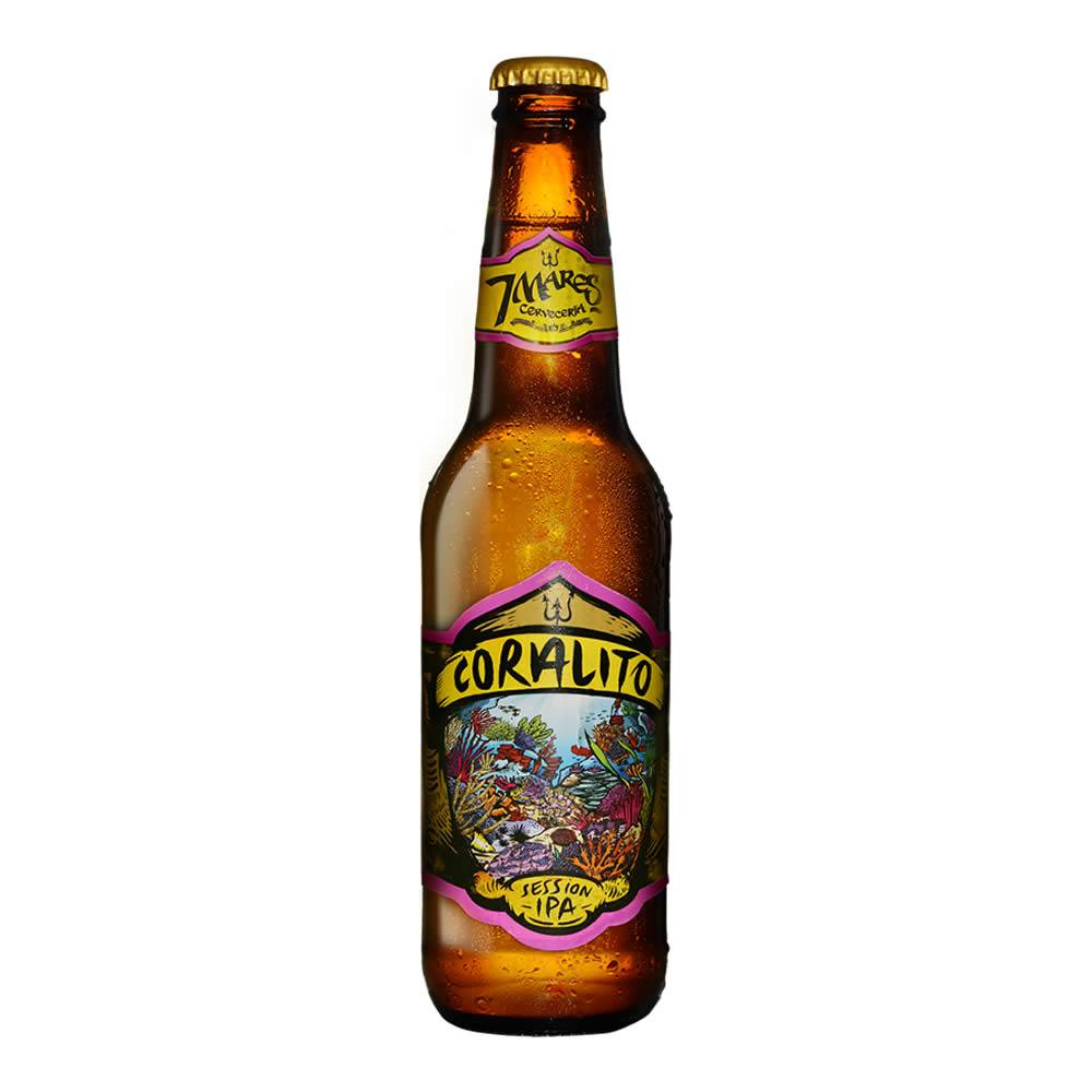 Cerveza 7 Mares Coralito