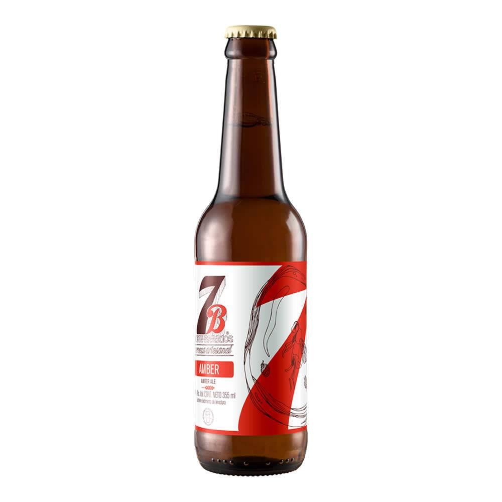 Cerveza 7 Barrios Amber