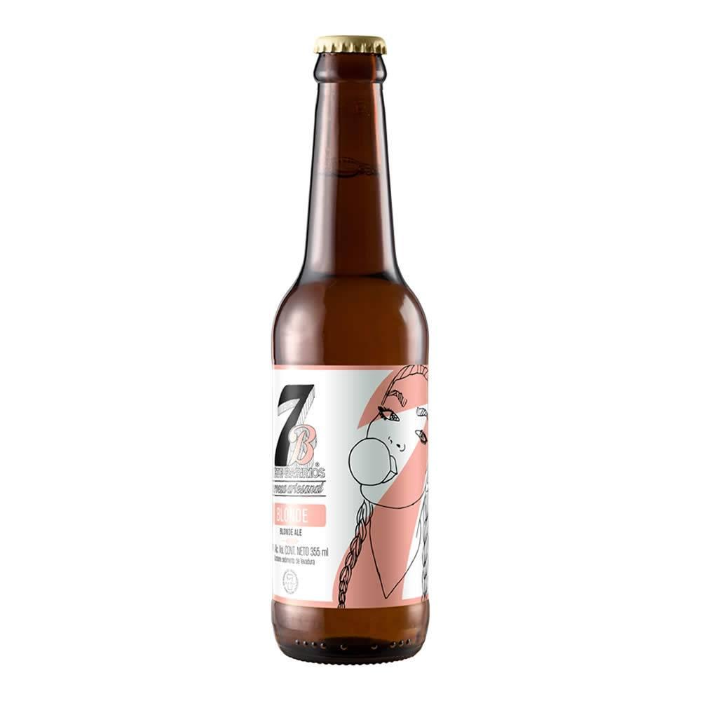 Cerveza 7 Barrios Blonde