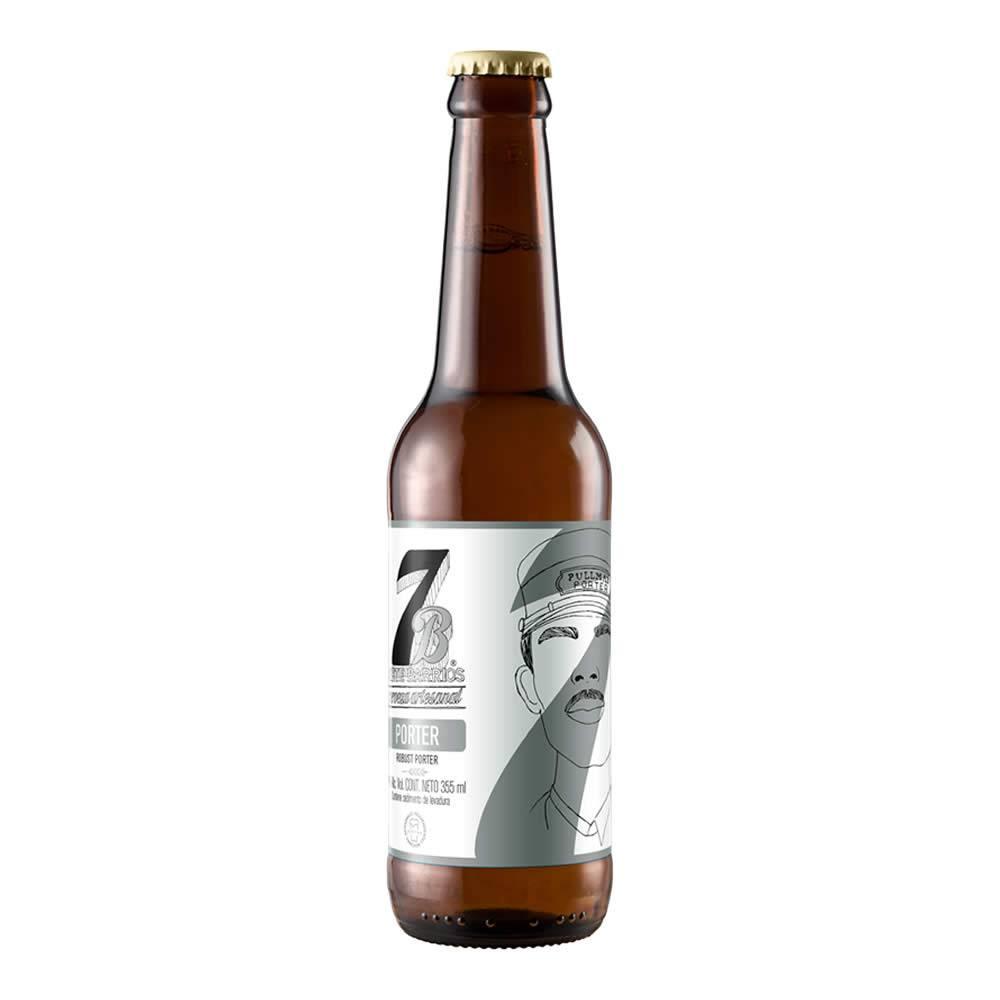 Cerveza 7 Barrios Porter