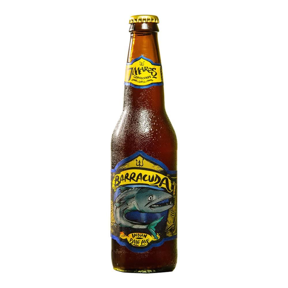 Cerveza 7 Mares Barracuda