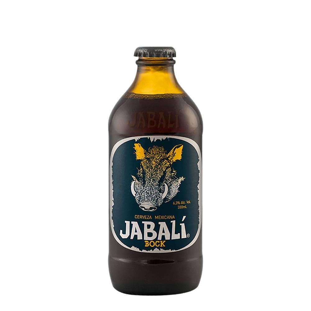 Cerveza Jabalí Bock