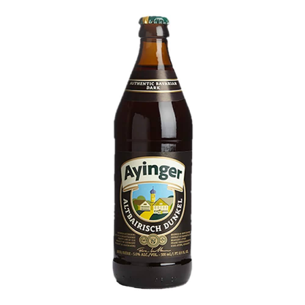 Cerveza Ayinger Dunkel