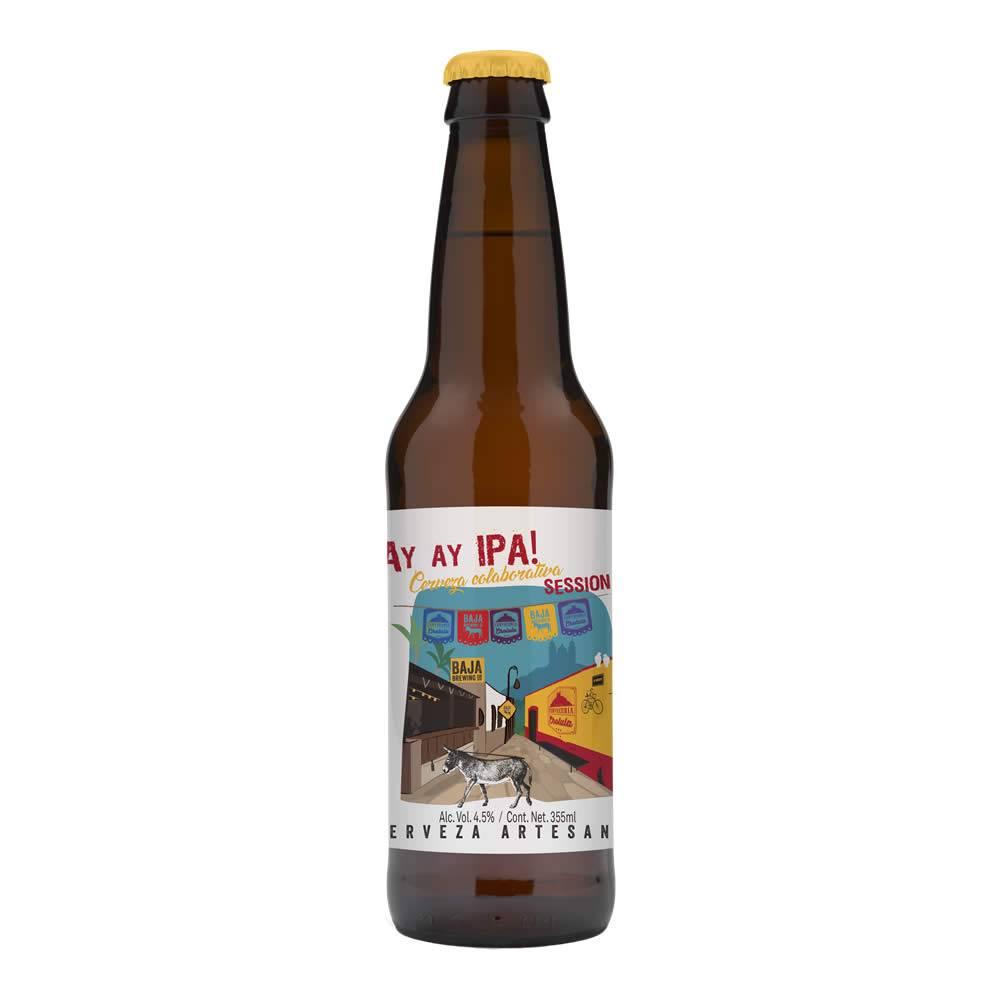 Cerveza Baja Brewing Ay Ay IPA