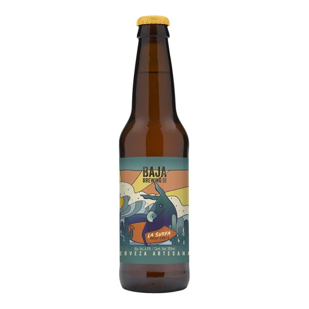 Cerveza Baja Brewing La Surfa