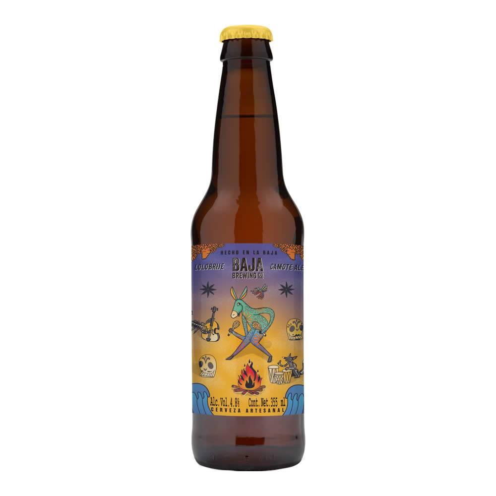 Cerveza Baja Brewing Lolobrije