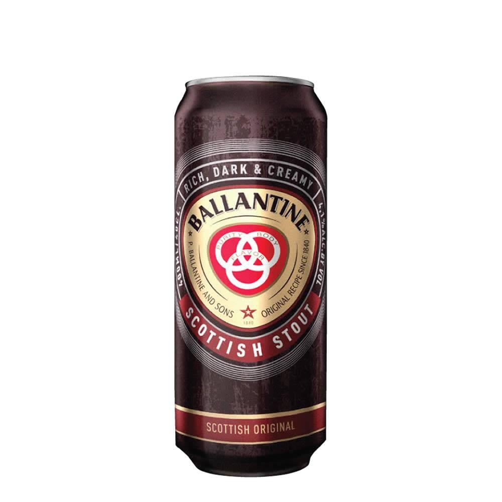 Cerveza Ballantine Scottish Stout lata