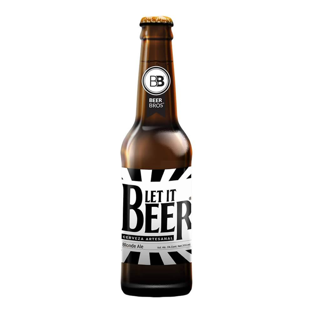 Cerveza Beer Bros Let It Beer