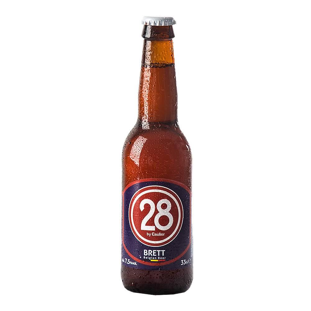 Cerveza Caulier 28 Brett