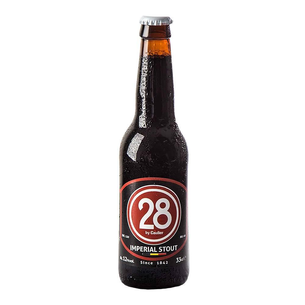 Cerveza Caulier 28 Imperial Stout