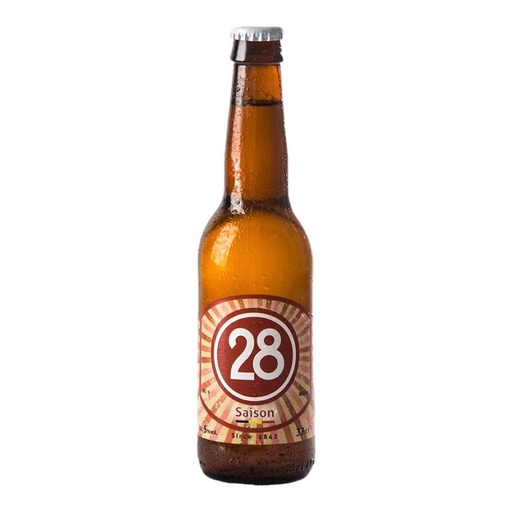 Cerveza Caulier 28 Saison