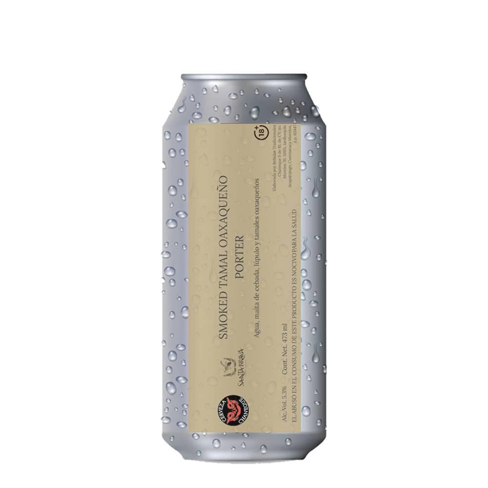 Cerveza Chaneque Tamal Oaxaqueño Porter