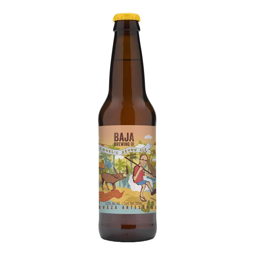 Cerveza Baja Brewing Charlie Brown Ale