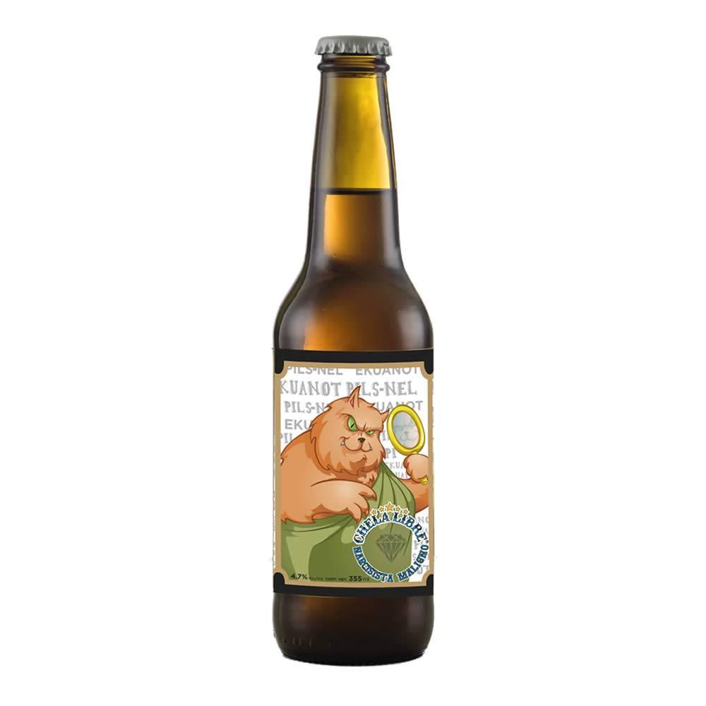 Cerveza Chela Libre Narcisista Maligno