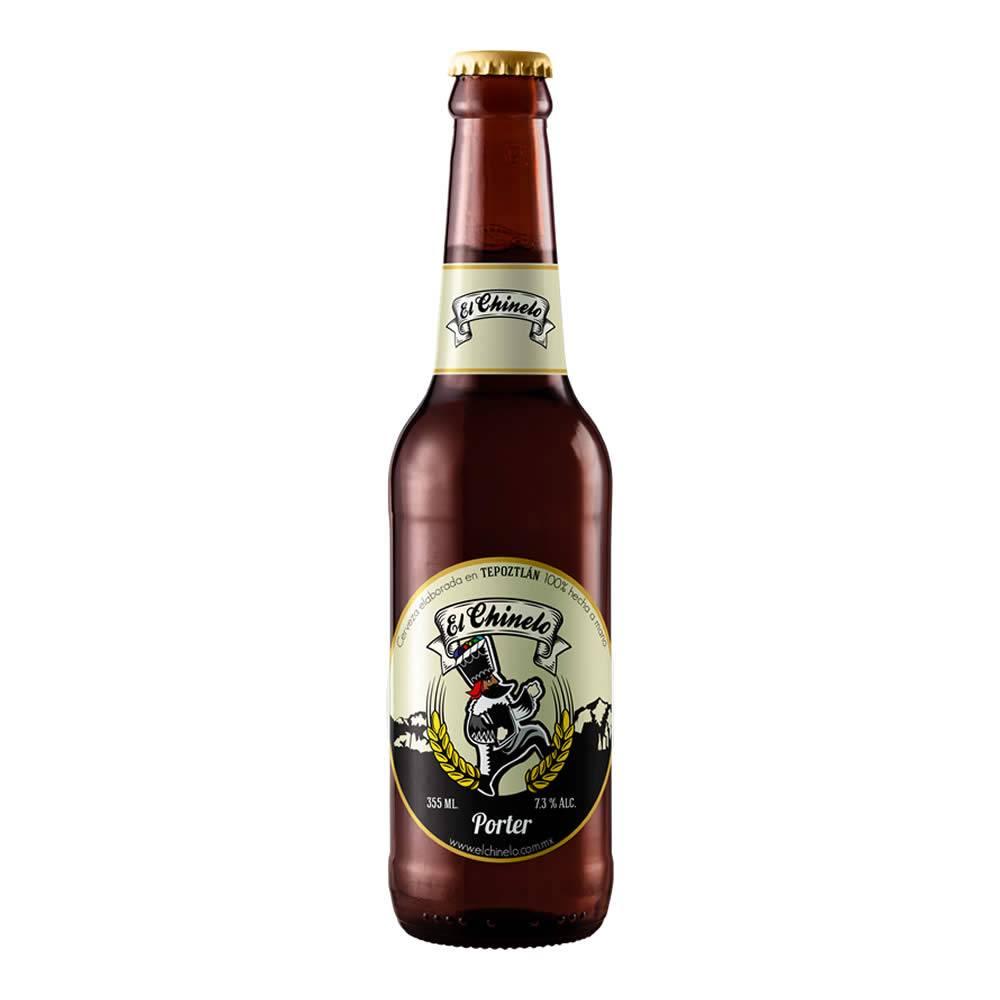 Cerveza El Chinelo Porter