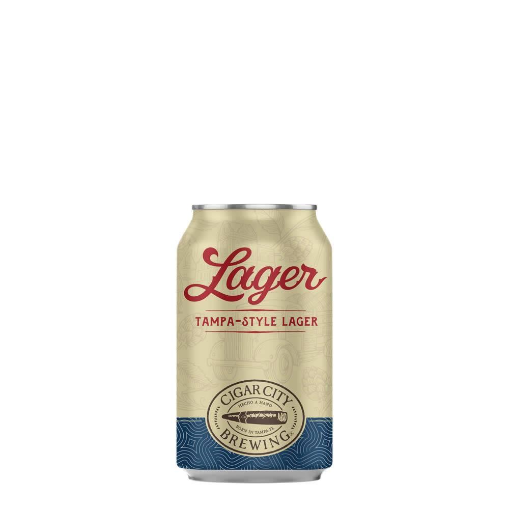 Cerveza Cigar City Lager Tampa