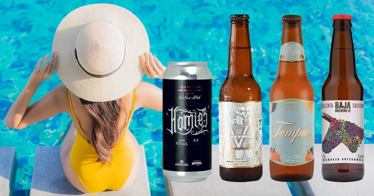 4 Cervezas Artesanales de Primavera