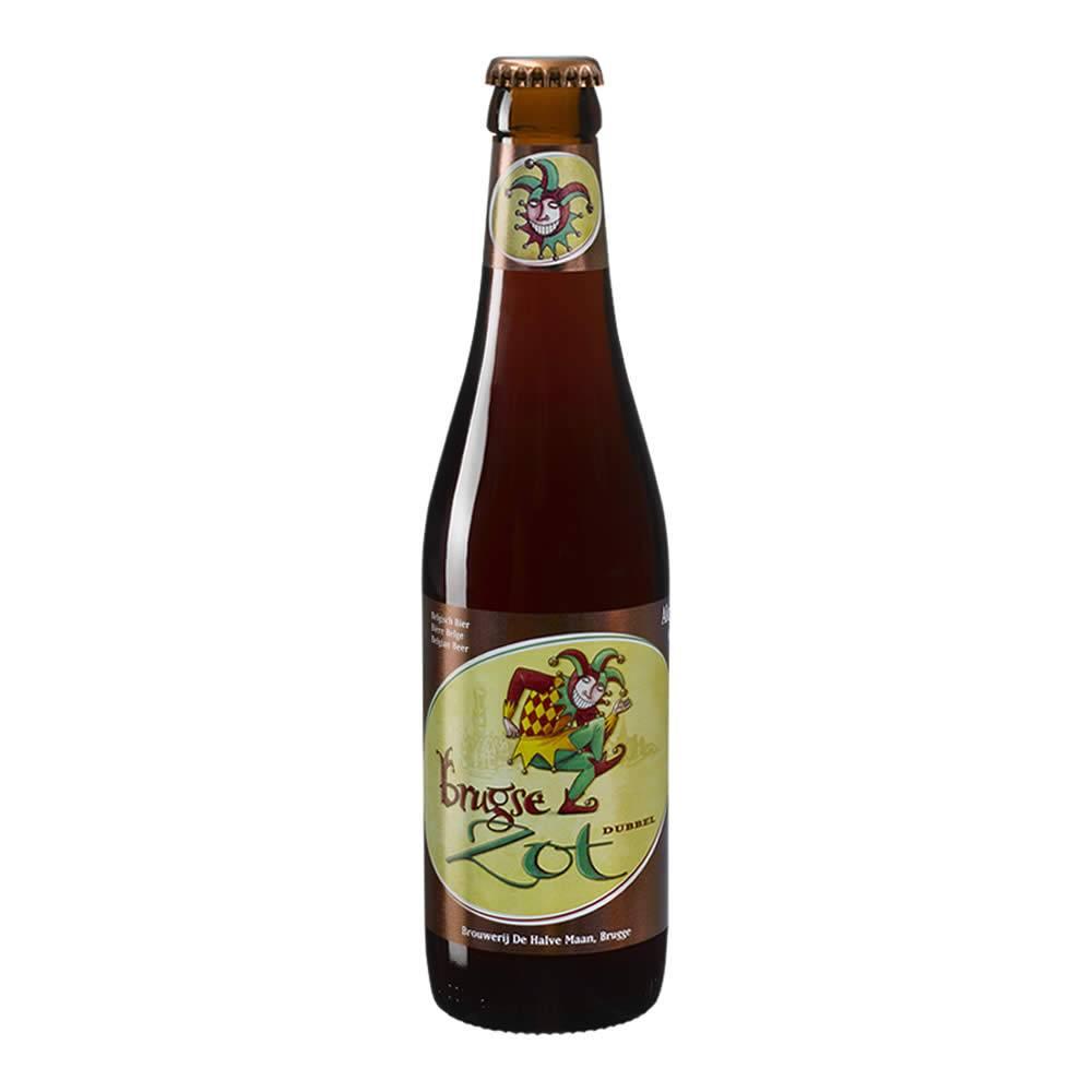 Cerveza De Halve Maan Brugse Zot Dubbel