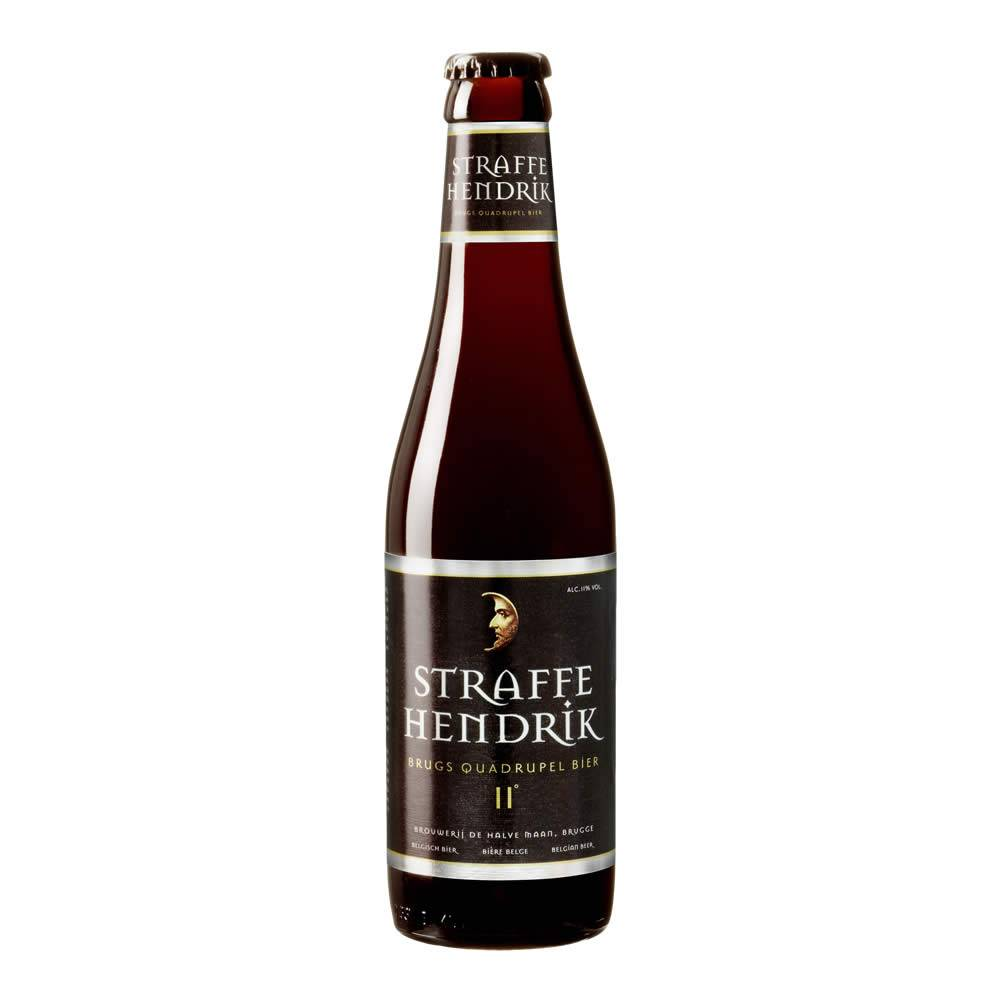 Cerveza De Halve Maan Straffe Hendrik Quadrupel