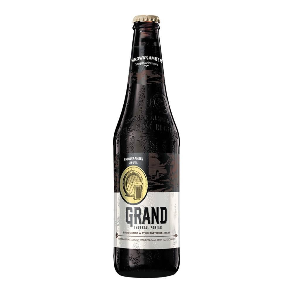 Cerveza Browar Amber Grand Imperial Porter