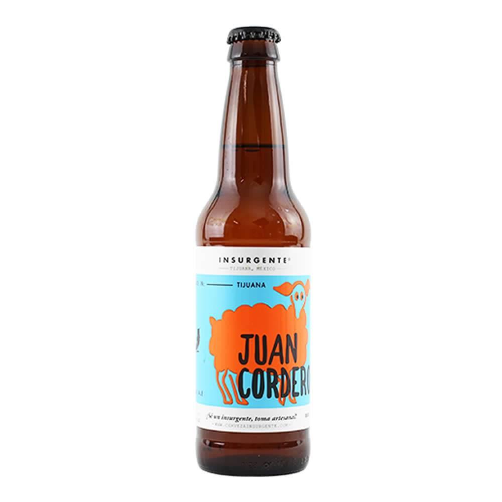 Cerveza Insurgente Juan Cordero