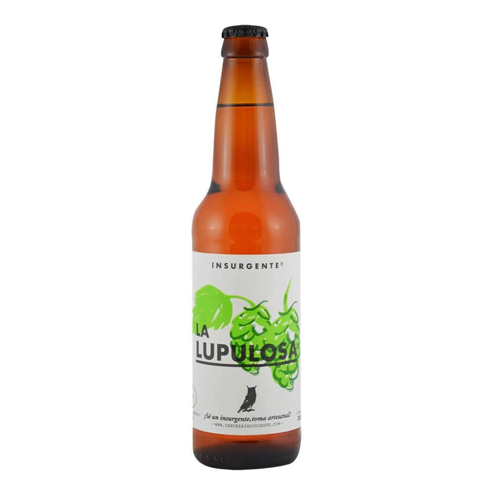 Cerveza Insurgente La Lupulosa