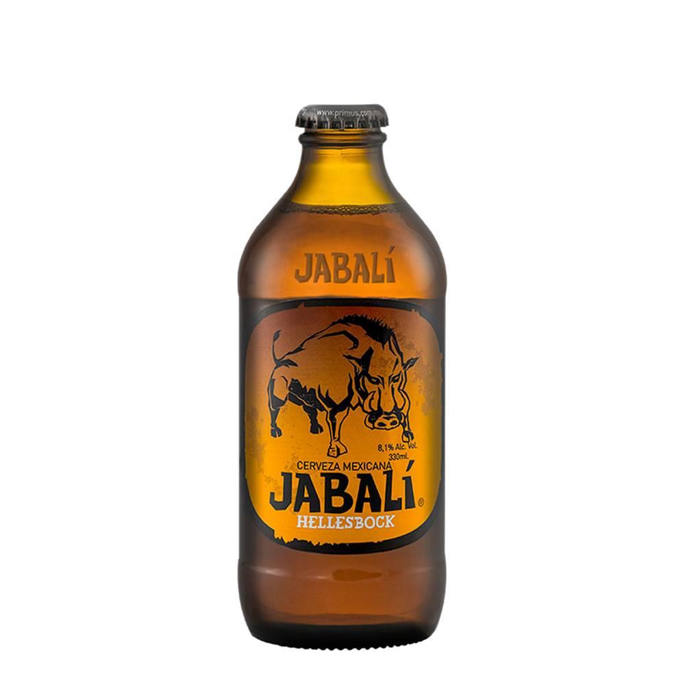 Cerveza Jabalí Hellesbock