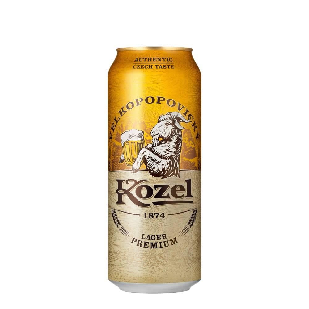 Cerveza Kozel Premium Lager Lata