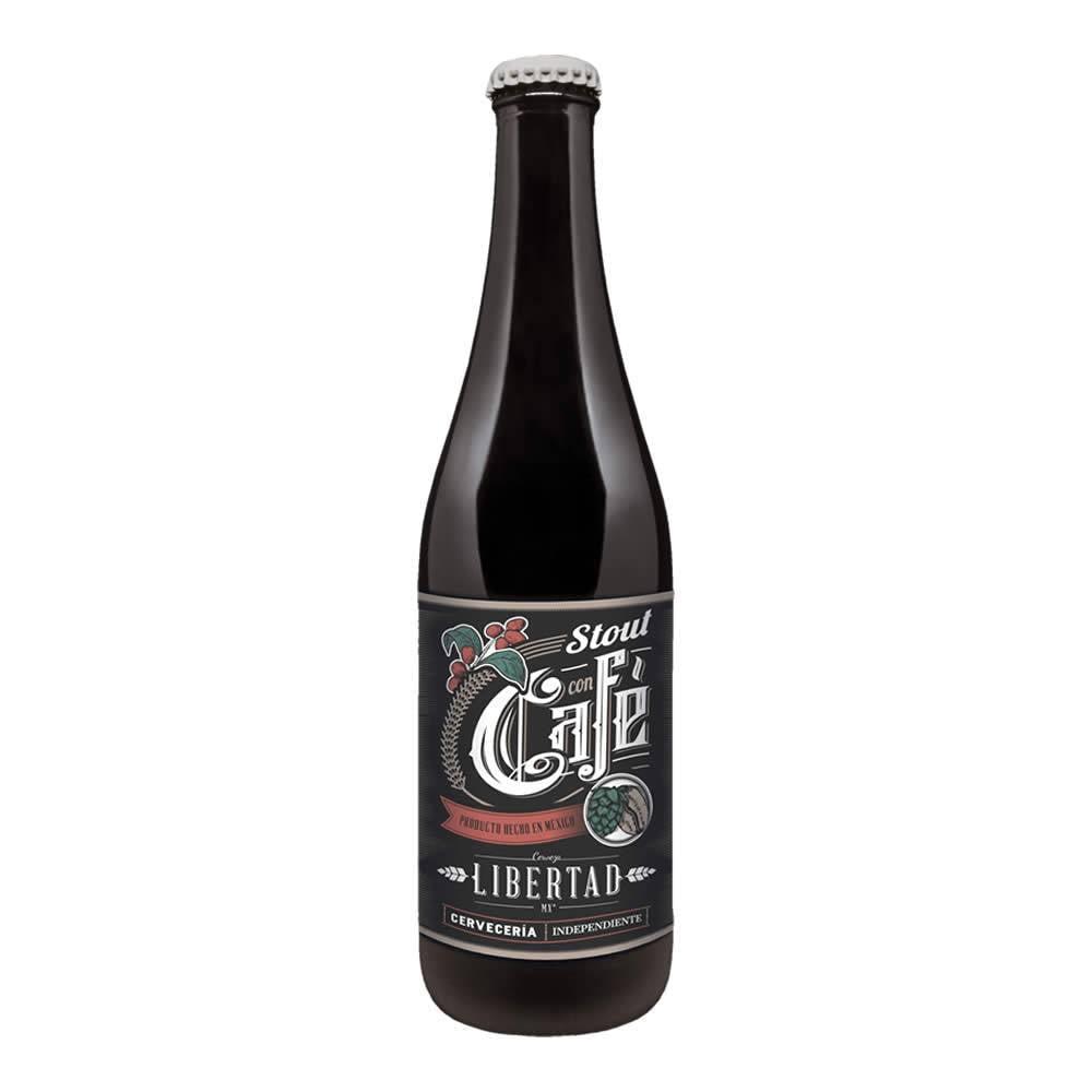 Cerveza Libertad Stout con Café