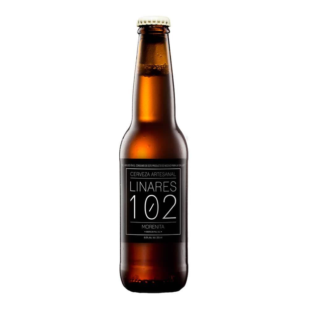 Cerveza Linares 102 Morenita