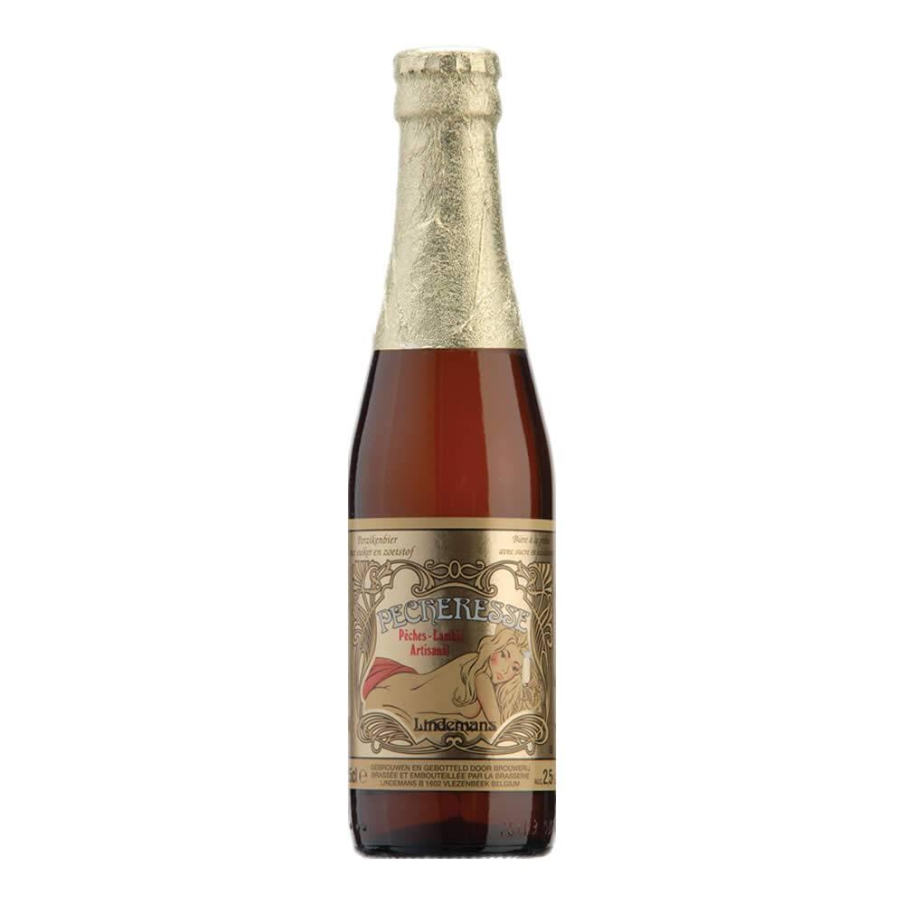 Cerveza Lindemans Pecheresse