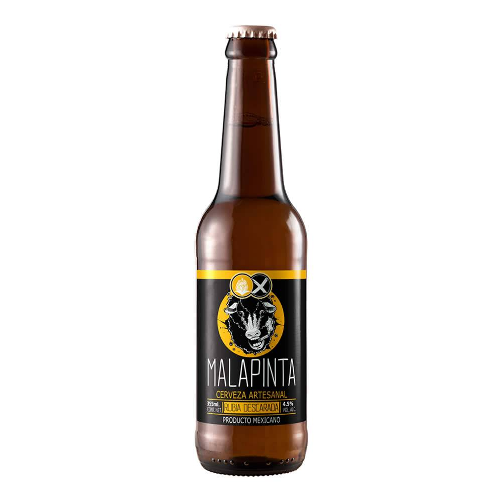 Cerveza Malapinta Rubia Descarada