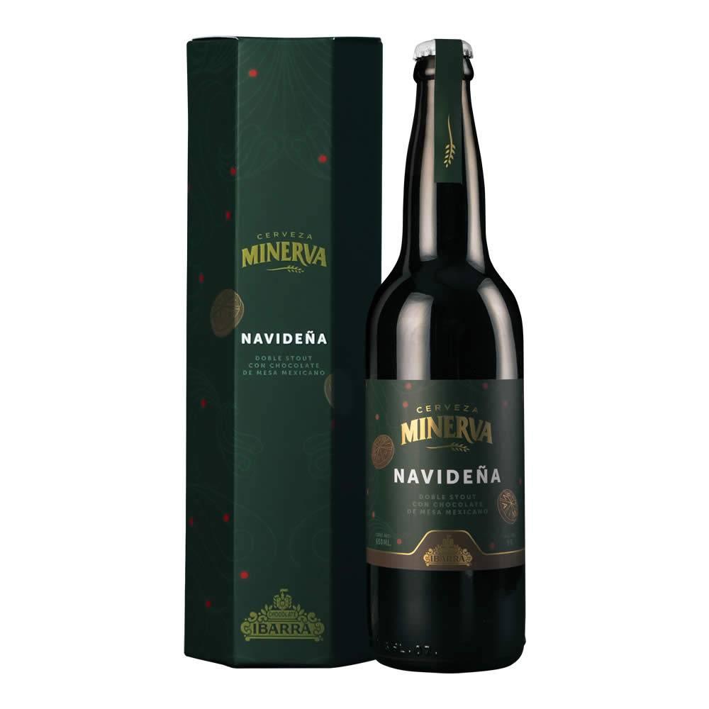 Cerveza Minerva Navideña