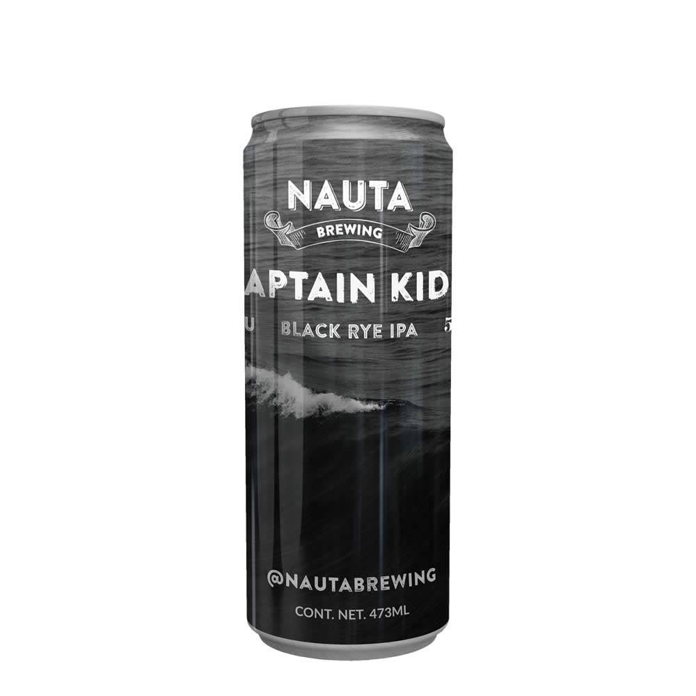 Cerveza Nauta Captain Kidd