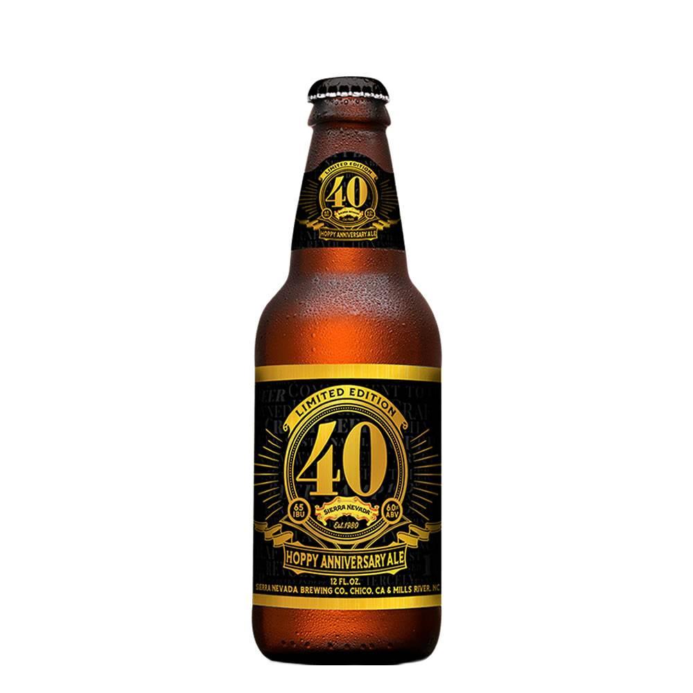 Cerveza Sierra Nevada 40 Aniversario