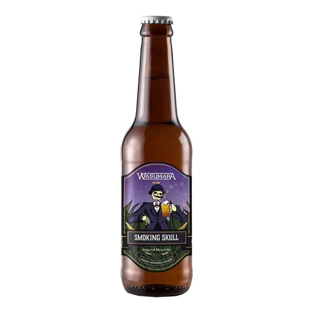 Cerveza Wasumara Smoking Mezcal Ale