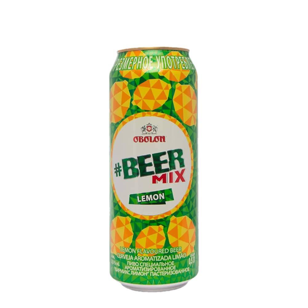 Cerveza Obolon Beermix Lemon