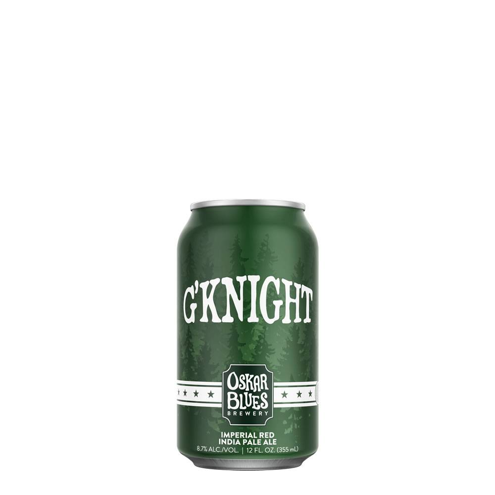 Cerveza Oskar Blues G'Knight Imperial Red IPA