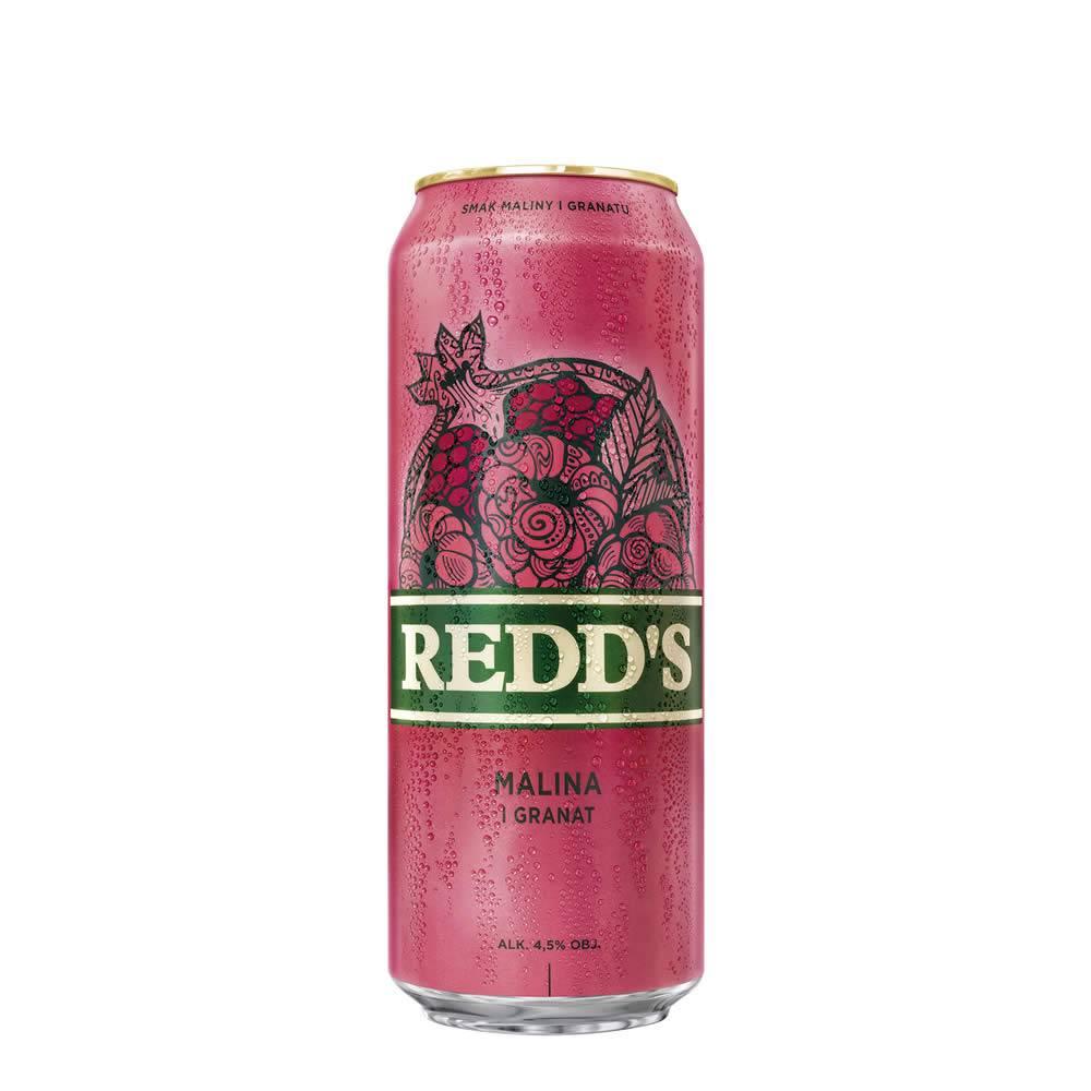 Cerveza Redd's Frambuesa Lata