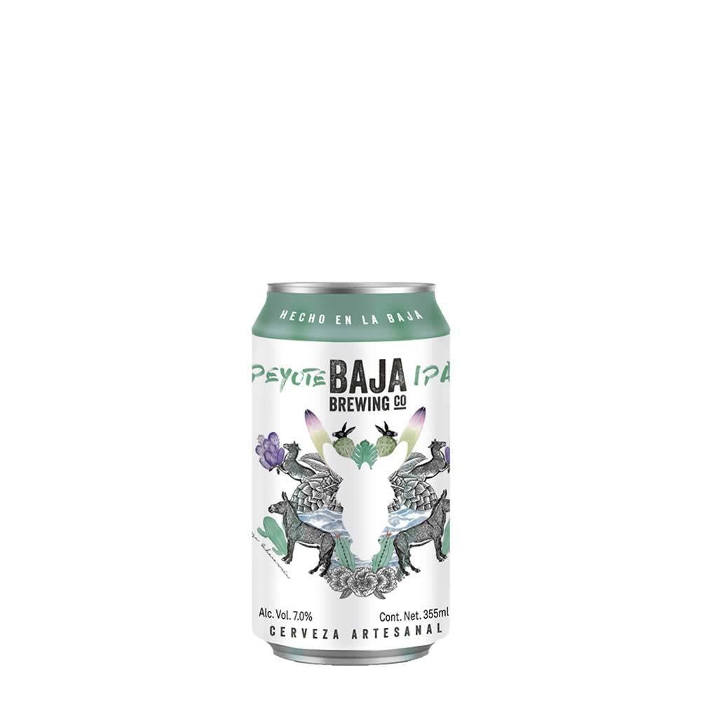 Cerveza Baja Brewing Peyote Lata