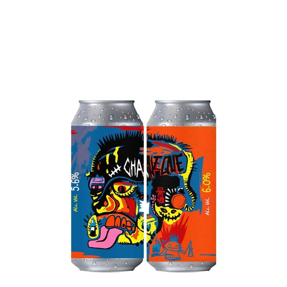 Cerveza Chaneque Basquiat IPA Combo