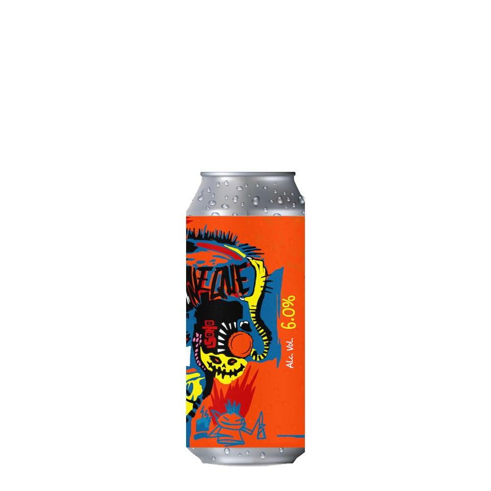 Cerveza Chaneque Basquiat Red IPA